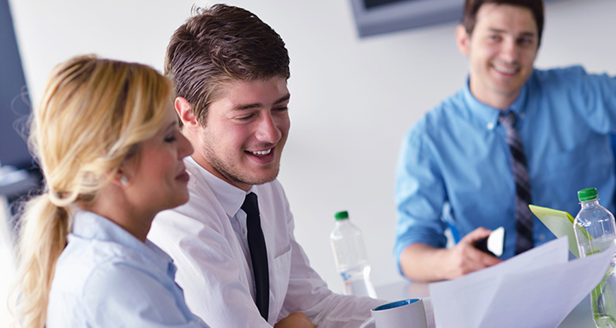 respect for millennials image of young executives