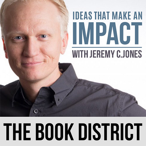 the book district with Jeremy C. Jones logo