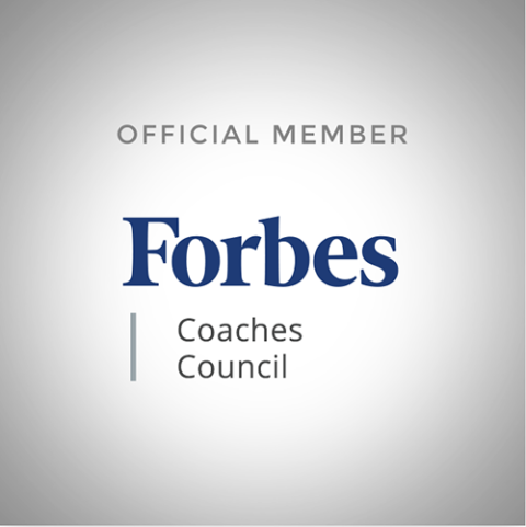 Forbes Coaches Council square badge